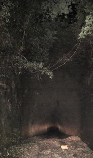 写真:隧道入口