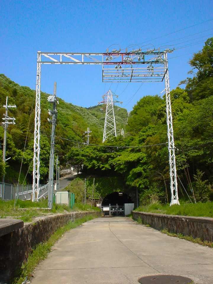近鉄奈良線 旧生駒トンネル(石切側坑口)