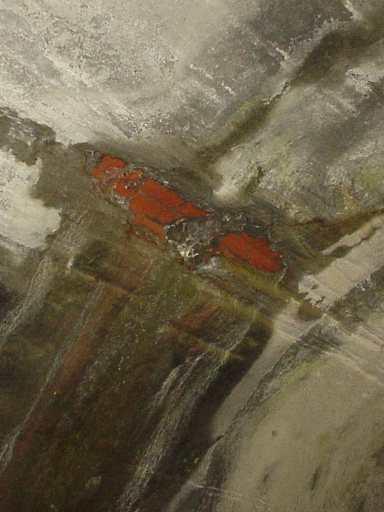写真:坑内の壁に付いた傷2