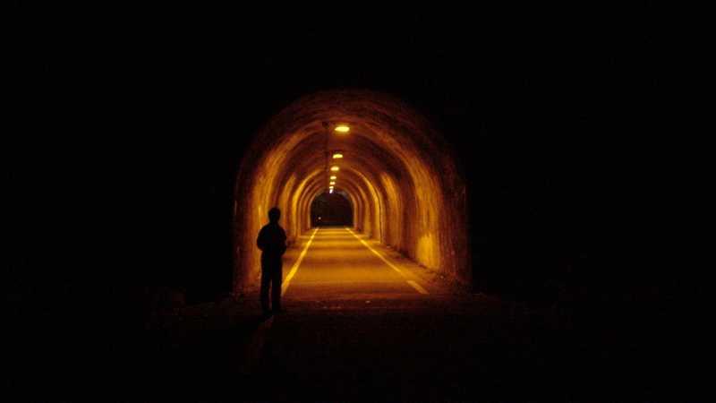 写真:小峰隧道 五日市側坑口