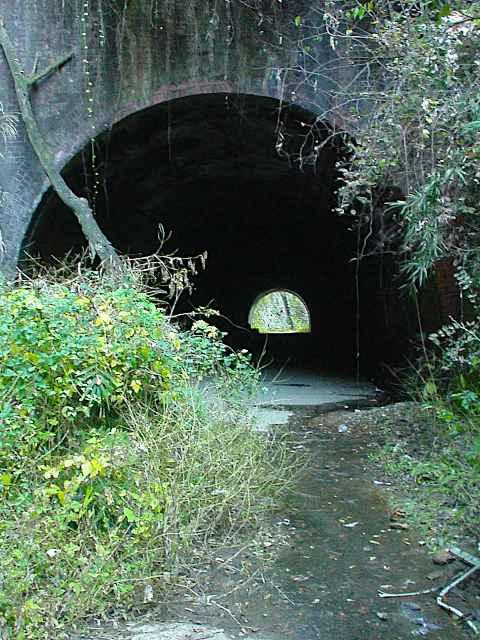 写真:青梅側坑口近景(2001年撮影)