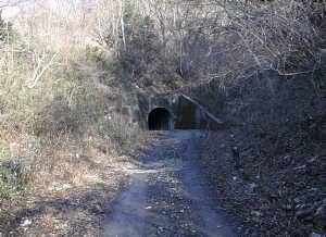 写真:トンネル南側坑口1
